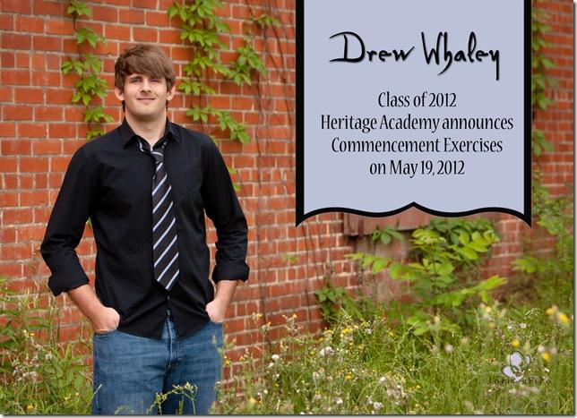 Whaley Grad Grad  Card-front
