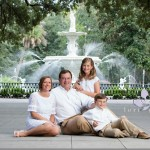 Savannah – Forsyth Park family
