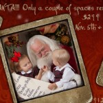 Statesboro Santa portraits experience – November 5 & 6th