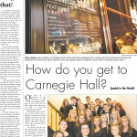 How do you get to Carnegie Hall?  Statesboro Youth Chorale.