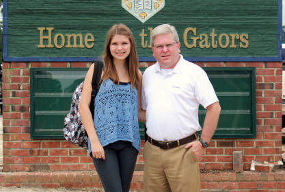 Edie Grace's First Day of School – 8th Grade