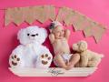 Babies-Baby-Baby Girl-Stuffed-Animals-Children-Kids-In Studio-Pink-Toys-Shelf-Statesboro-Lori Grice
