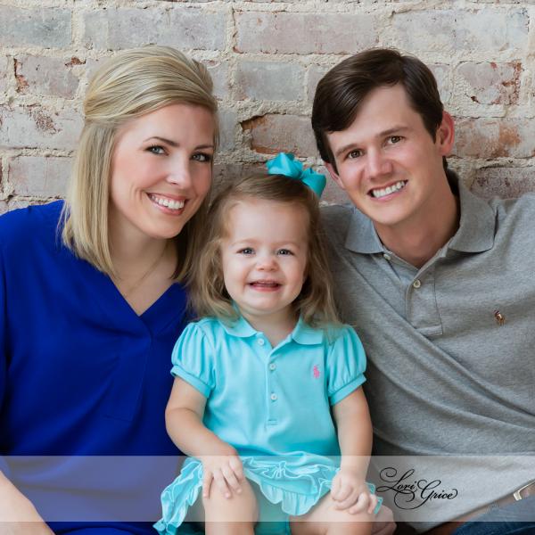 Family - Children - Brick Wall - Studio - Statesboro