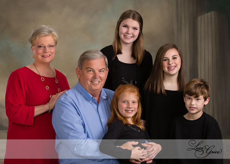 Family - Hutchison - Grandchildren - Canvas - Studio - Statesboro - Families - Children