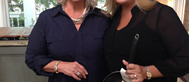 Hey Y'all! Lori Grice gets a behind the scenes preview of The Paula Deen Network which launches September 24th