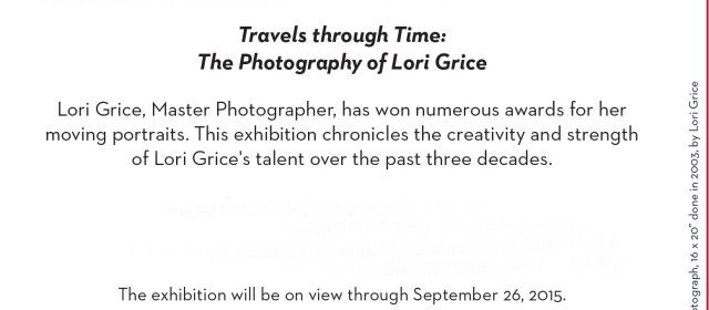 """The Photography of Lori Grice"" opens Friday at the Averitt Center for the Arts"