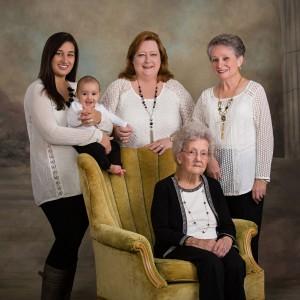Five Generation Family Portrait