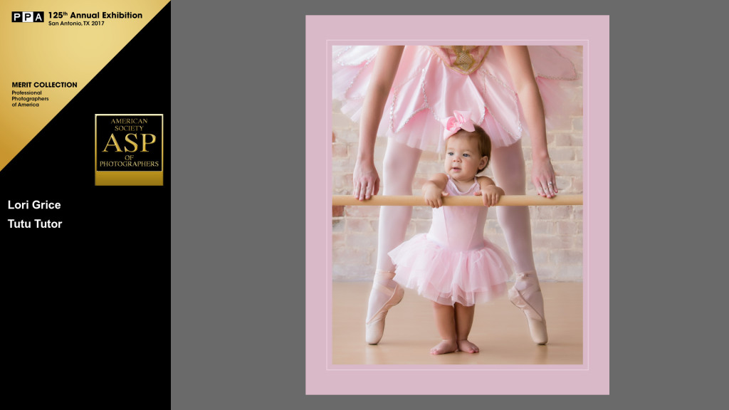 Ballerina mom and daughter