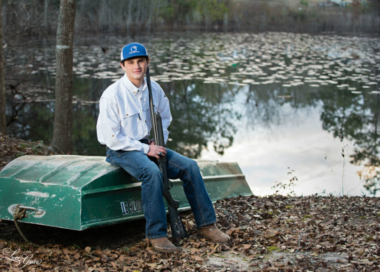 Tyler-Collins-Charter Conservatory-GSU-Formal-Gun-Hunting-Tractor-Woods-Forest-Camoflage-Ducks-H0