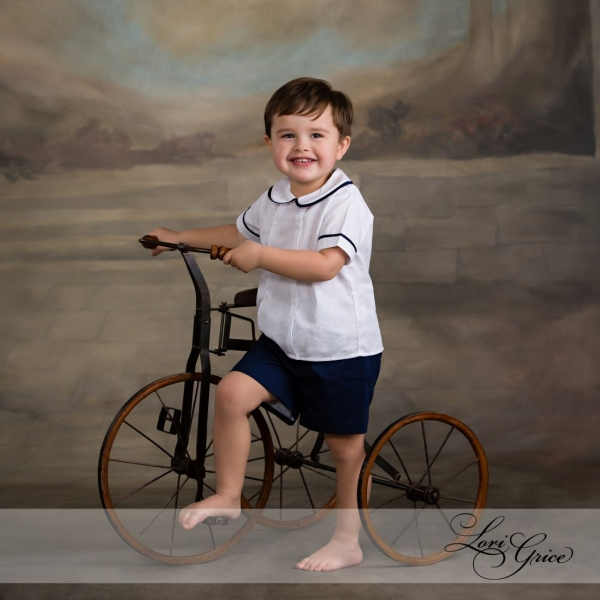 studio-bike-boy-three years