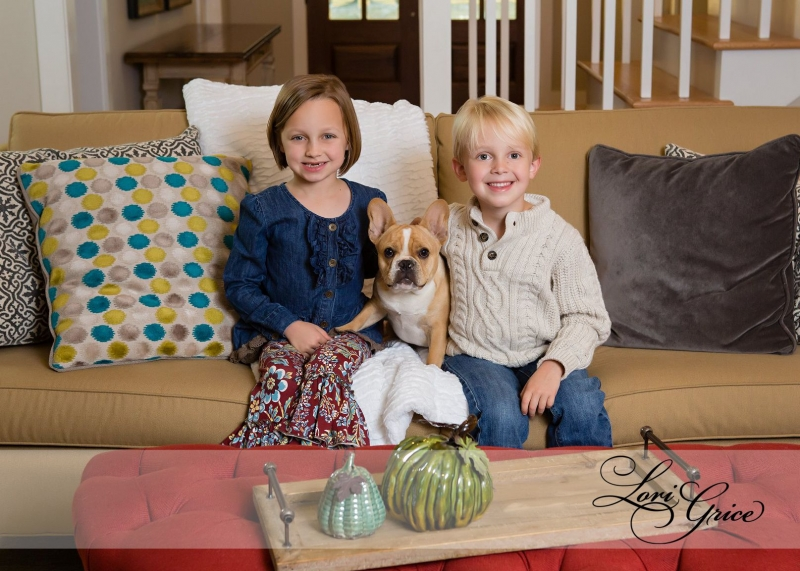 siblings-brother-sister-dog-fall-house
