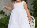 children-white dress-girl