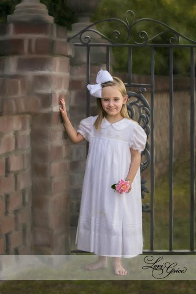 5 Year Portrait-Gate-Iron Gate-Outdoors-Statesboro-Lori Grice Photography-Children-Kids-Little Girl