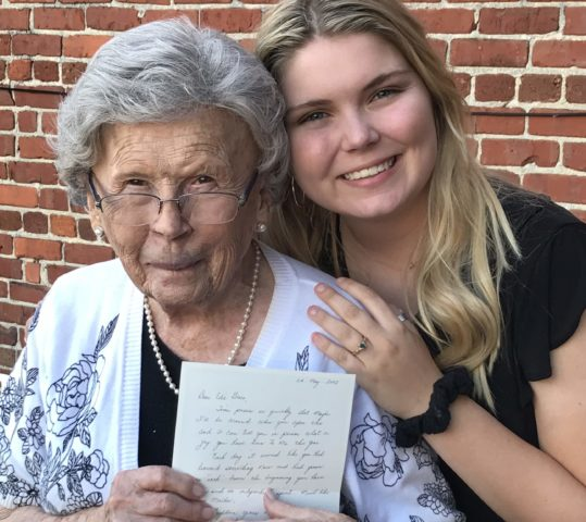 Edie Grace Opens Time Capsule on her 18th Birthday